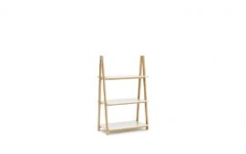 Normann Copenhagen - Step Up Bookcase LOW White