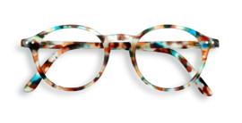 IZIPIZI  - Leesbril Model #D Tortoise blauw