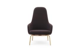 Normann Copenhagen - Era Lounge Tango Leather Walnut