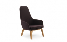 Normann Copenhagen - Era Lounge Tango Leather Walnut