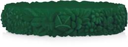 O bracelet emerald groen maat S