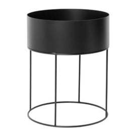 Ferm Living Plantbox - Round Black