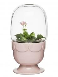 Sagaform - Greenhouse on a stand (Pink)