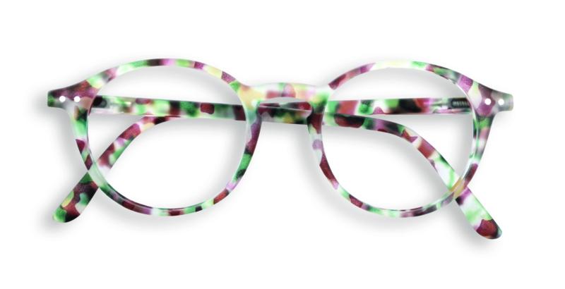 IZIPIZI - Leesbril Model #D Tortoise groen
