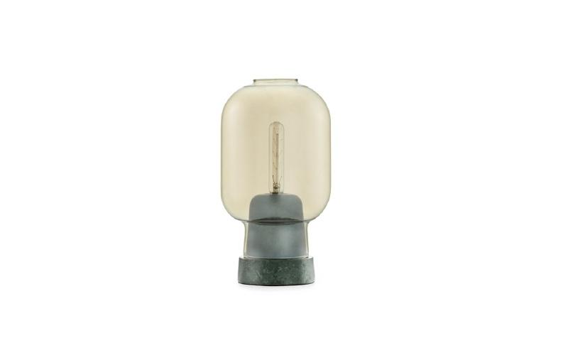Normann Copenhagen - Amp Table Lamp Gold/Green