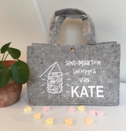 """Sint Maarten mini tas """"gepersonaliseerd"""""""