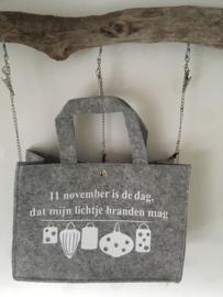 """Sint Maarten Mini Tas """"lampionnen"""""""