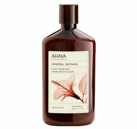 AHAVA Mineral Botanic Cream Wash - Hibiscus & Fig