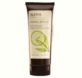 AHAVA Mineral Botanic Hand Cream - Lemon & Sage