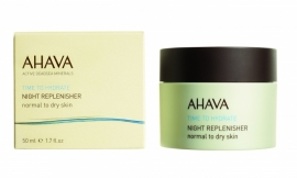 AHAVA Night Replenisher, Normal to Dry Skiin