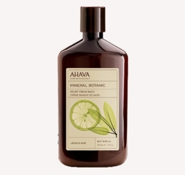 AHAVA Mineral Botanic Cream Wash - Lemon & Sage