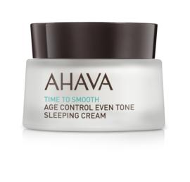 AHAVA Time to Smooth Even Tone Sleeping Cream