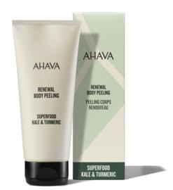 AHAVA Renewal Body Peel - Kale & Turmeric