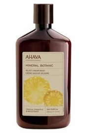 AHAVA Mineral Botanic Cream Wash - Pineapple & Peach