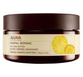 AHAVA Mineral Botanic Body Butter - Pineapple & Peach