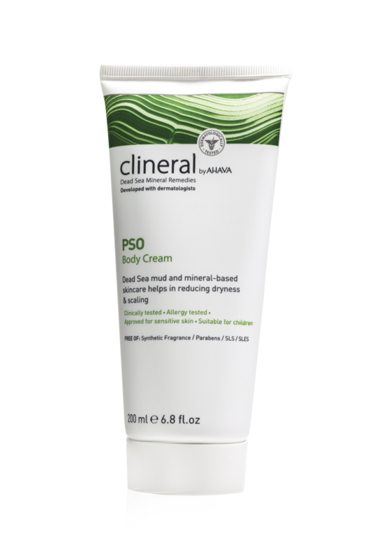 CLINERAL PSO Body Cream Psoriasis