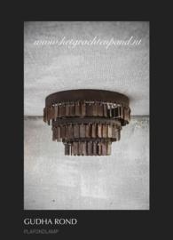 Hoffz plafondlamp Gudha rond maat 32x 17,5 (1953)