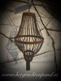 Hoffz pistache ketting hanger maat 12x12x25