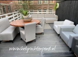 Outdoor bank, fauteuil, eetkamerstoel/bank