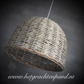 Rotan Hanglamp maat rg132  32x 47,5 (zonder snoerpendel) rg