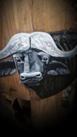 Ronde broodplank 70 cm met Buffel