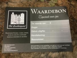 Cadeau Bon voor webshop en of Winkel