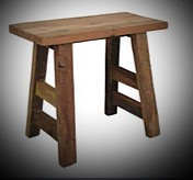 Kruk/bankje 50x23x45 old wood hs
