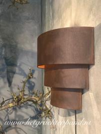 Hoffz Wandlamp Rohan maat 45x20x36 verw leverdatum februari 2020