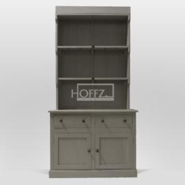 Hoffz kast Hugo smal! Met deuren (manden ook mogelijk) maat 115x50x235