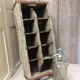Het Grachtenpand houten KISTEN / TROG / TONNEN