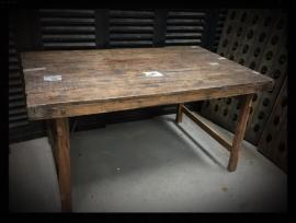 Unieke tafel poten inklapbaar maat ong 150x80