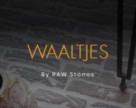 Waaltjes  Raw Stones prijs is per m2 (alleen de stones)