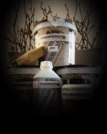 5 liter kalkverf voor 25m2 (2 lagen) na bestelling bij opmerking kleur vermelden