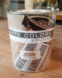 0.75 liter krijtlak 4-8 m2 / 2 lagen (vermeld bij opmerking na bestelling welke kleur )