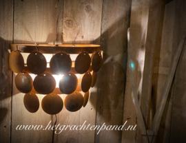 Wandlamp 3 laags schijven maat 35 breed x 18 diep x 24 hoog