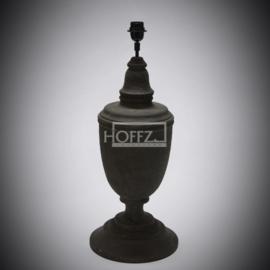 Tafellamp monarc bruin 70 cm hoog