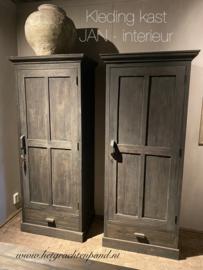 """Kast """" Rembrand"""" 1 deurs kleding kast met ophang stang, legplank en lade met maat 200x90x60"""