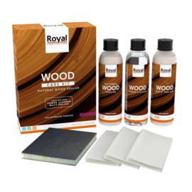 Bescherming voor hout (care kit naturel matte wood sealer)