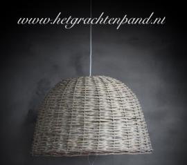 Rotan Hanglamp rg133 maat  36,5 x 55,5 (zonder snoerpendel) rg