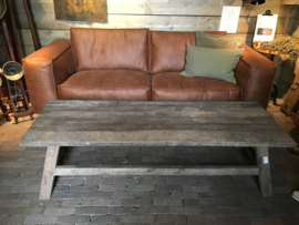 Salontafel prachtig oud hout maat 170x60x45