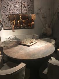 Ronde tafel met rand 125 cm Aura Peeperkorn