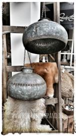 Oude waterpot lamp (elektra fitting niet aanwezig)