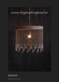 Hoffz hanglamp Shanti ketting met druppels/pegels