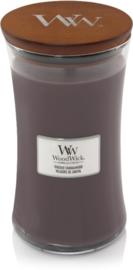 Woodwick Large Candle Sandal Wood (kalmerende geur)