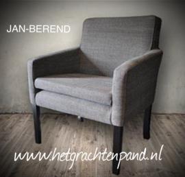 JAN-BEREND Eetkamer stoel maat 60x57x87 zd45 zh50 armh68