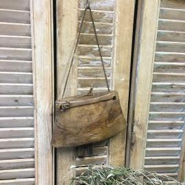 Oude houten bel elk item is uniek