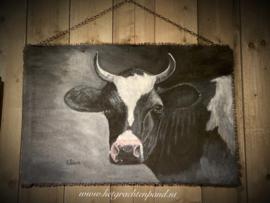 Eliza Art Painting Schildering handmade op kalkverfdoek of hout
