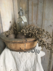 Oude kleine olijfbak 40-50 cm