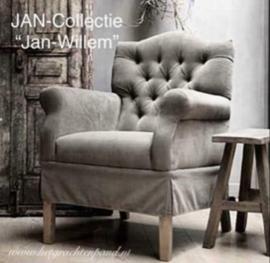 Fauteuil Jan-Willem  (met rug capiton)