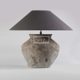 Unieke oude kruik lamp maat S (zonder kap)